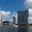 Stock Photo: Skyscrapers of Rotterdam