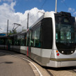 Rotterdam tramway — Stock Photo
