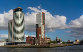 Skyscrapers of Rotterdam — Stock Photo