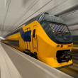Stock Photo: High-speed train in Netherlands