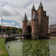 Stock Photo: Old fortress gates in Haarlem