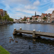 Canal in Haarlem — Stock Photo