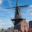 Stock Photo: Windmill in Haarlem