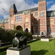 Stock Photo: Statue at Rijksmuseum in Amsterdam