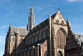 Saint Bavo Cathedral in Haarlem — Stock Photo