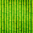 Bamboo mat closeup for texture — Stock Photo