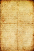 Vintage aged old paper background or texture — Stock Photo
