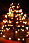 Set of lighting candles — Stock Photo