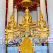 Стоковое фото: Beautiful Buddhstatue from temple in Thailand.