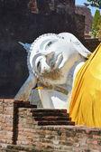 Krásná socha buddhy z chrámu v thajsku. — Stock fotografie