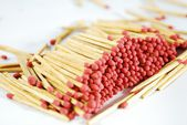Matches isolated — Stock Photo