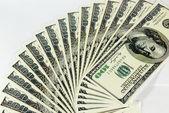 Billetes utilizados en el comercio — Foto de Stock