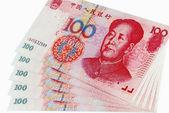 Notas chinês — Foto Stock