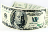 Banknotes used in trading — Stock Photo