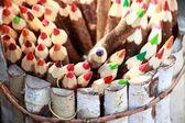 Set of color pencils. — Fotografia Stock