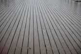 Madeira marrom em textura de chuva — Foto Stock
