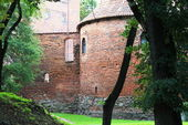 ポーランド古い城ニジツァ — ストック写真