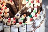 Set of color pencils. — Photo