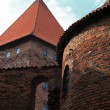 Poland old castle Nidzica — Stock Photo #25974373