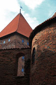 Poland old castle Nidzica — Stock Photo