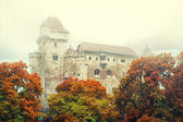 Lichtenstein Castle at sunrise — Stock Photo
