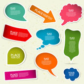 Speech Bubbles — Stockvector