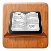 E-book Concept — Stock Vector