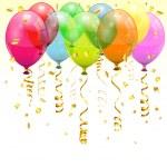 Birthday Balloons — Stock Vector #13437546