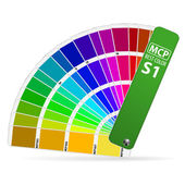 Color Guide — Stock Vector