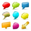 Speech Bubbles — Stock Vector #13966583