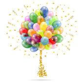 Birthday Balloons — Stock Vector