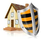 Safe House Concept — Stock Vector