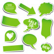 speech bubbles — Stock Vector #15384335