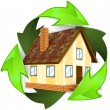 Ecological and Energy Saving Concept — стоковый вектор #15384419