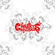 Christmas Card - Imagens vectoriais em stock