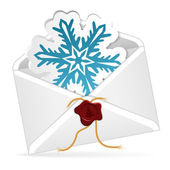 Christmas Email — Stock Vector