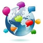 Social Media Concept — Stock Vector #17592479