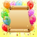Birthday Frame — Stock Vector