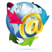 E-Mail Concept — Stock Vector