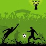 Soccer Poster — Stock Vector #23384068
