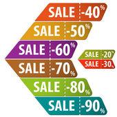 Recueillir les signes de la vente — Vecteur