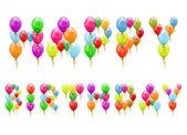 Balões de aniversario — Vetor de Stock