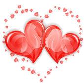 Valentine's Day Concept — Vetor de Stock