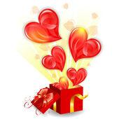 Valentine's Day Concept — Vecteur
