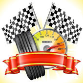 Racing — Stock Vector