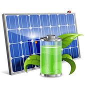 Solar Panel — Stok Vektör