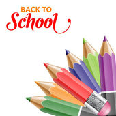 Welcome back to school — Stock Vector