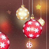 Chrismas balls — Stock Photo