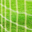 Stock Photo: Football net