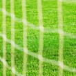 Foto Stock: Football net